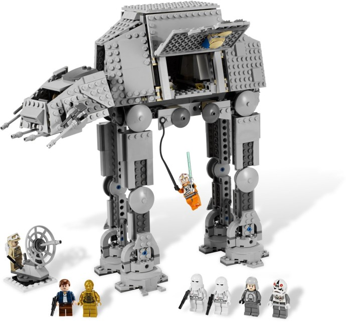 8129 1 At At Walker Brickset Lego Set Guide And Database