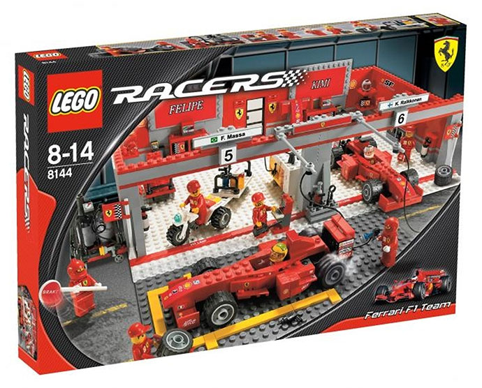 racers ferrari brickset lego set guide and database. Black Bedroom Furniture Sets. Home Design Ideas