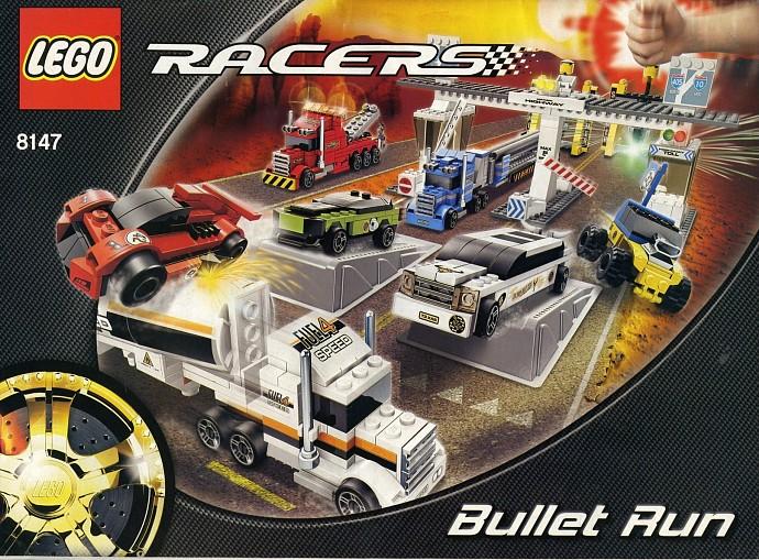 lego technic extreme police racer instructions