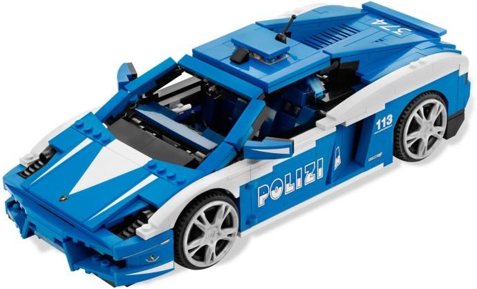 Car Auction Apps >> 8214-1: Lamborghini Polizia | Brickset: LEGO set guide and database