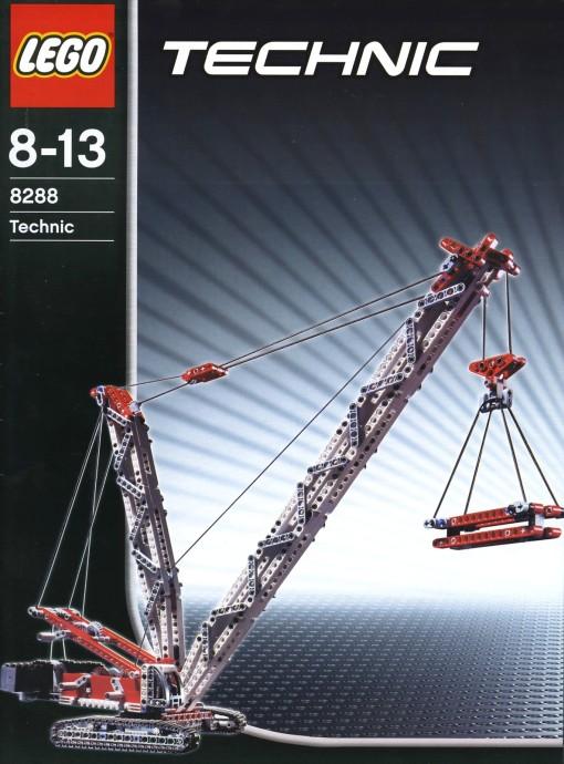 8288 1 Crawler Crane Brickset Lego Set Guide And Database