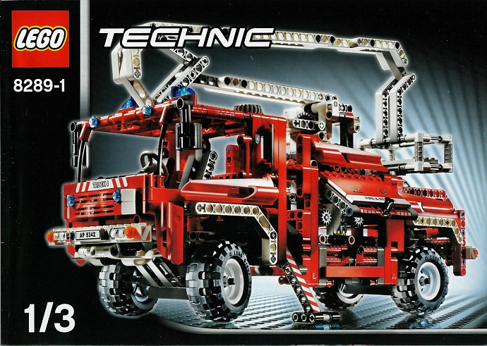 Technic Tagged Fire Truck Brickset Lego Set Guide And Database