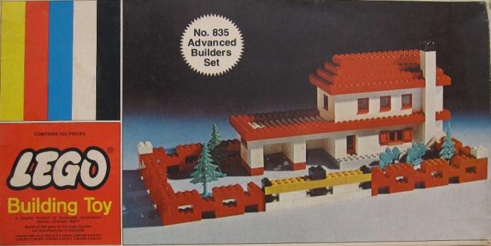 Изображение набора Лего 835 Advanced Builders Set
