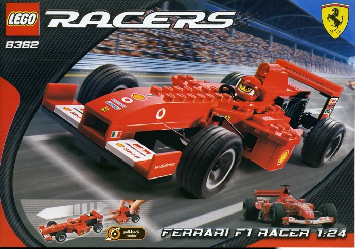 8362 1 Ferrari F1 Racer Brickset Lego Set Guide And