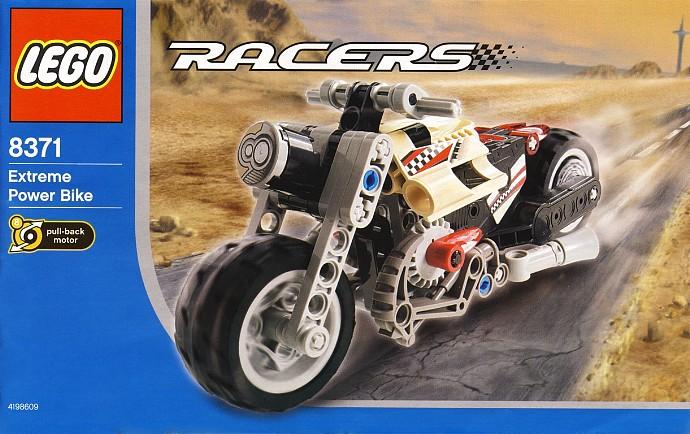 8371-1: Extreme Power Bike | Brickset: LEGO set guide and database