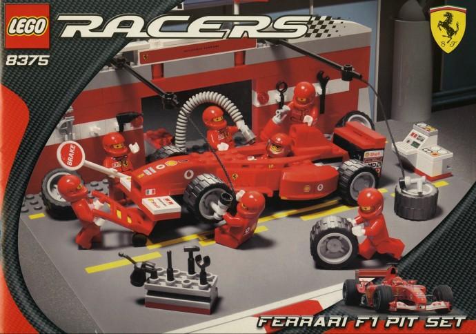 8375 1 Ferrari F1 Pit Set Brickset Lego Set Guide And