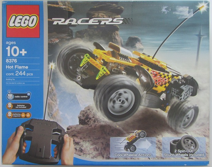 Car Auction Apps >> 8376-1: Hot Flame RC Car | Brickset: LEGO set guide and ...
