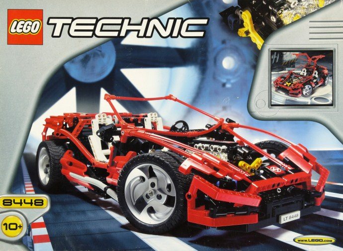 Review 8448 Super Street Sensation An Iconic Technic Super Car