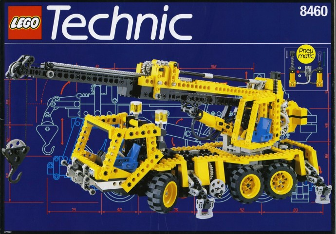 Car Auction Apps >> 8460-1: Pneumatic Crane Truck   Brickset: LEGO set guide ...