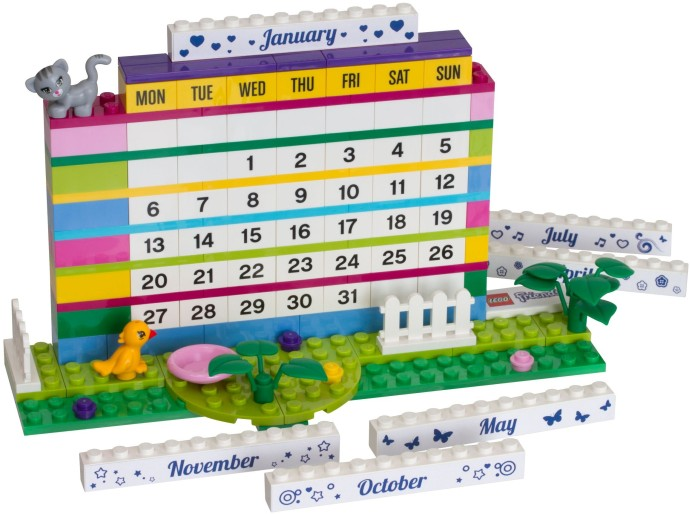 850581 1 Friends Brick Calendar Brickset Lego Set Guide And Database