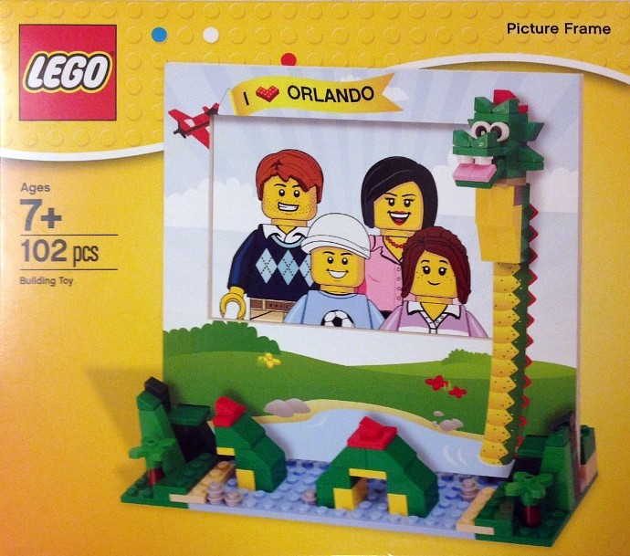 lego picture frame instructions