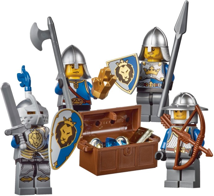 lego medieval castle instructions