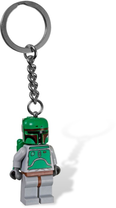 LEGO 851659 Keyring Star Wars Boba Fett Minifigure Keychain