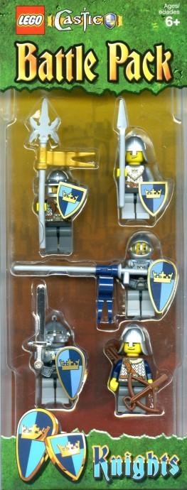 8522711 knights battle pack brickset lego set guide