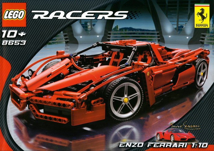 abouilly 9186 ferrari enzo racers technic lepin. Black Bedroom Furniture Sets. Home Design Ideas