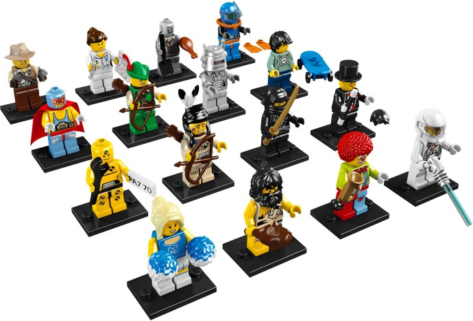 8683-17: LEGO Minifigures Series 1 - Complete | Brickset: LEGO set ...