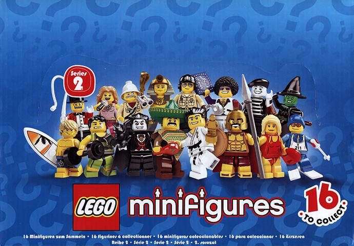 8684 18 LEGO Minifigures Series 2 Sealed Box Brickset Set Guide And Database