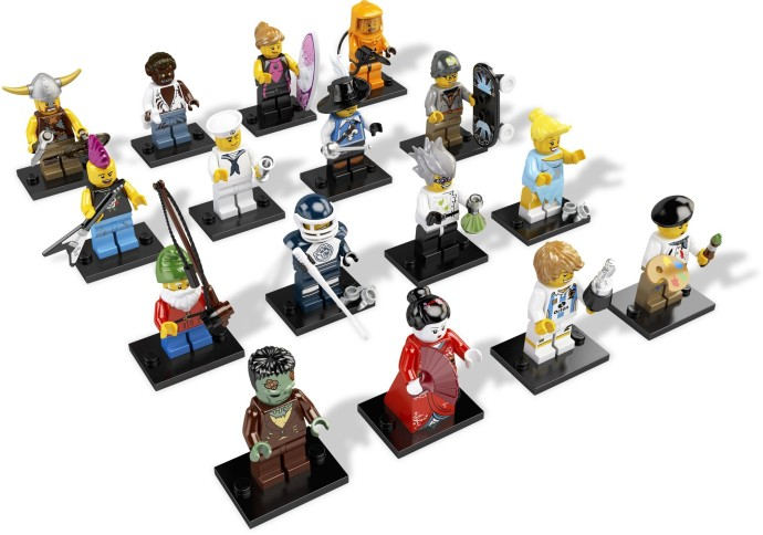 Minifigurine pentru Colectionari – Seria 4