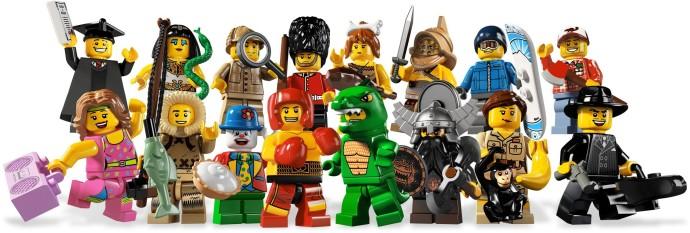 LEGO Minifiguren Minifigures 8805 Series 5 Zoopflegerin