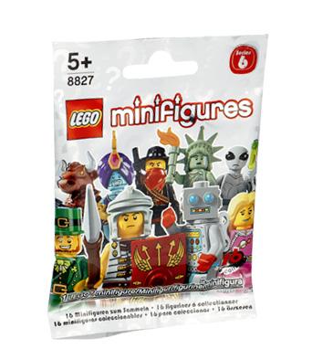 Classic Alien New Lego Minifigure Series 6 8827 Set