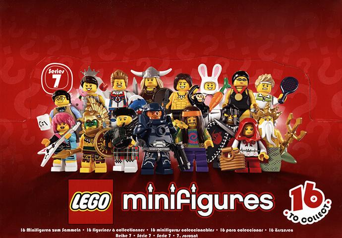 "Lego Minifigures 8831 Series 7 ""Choose Your MiniFigure&#034 ..."