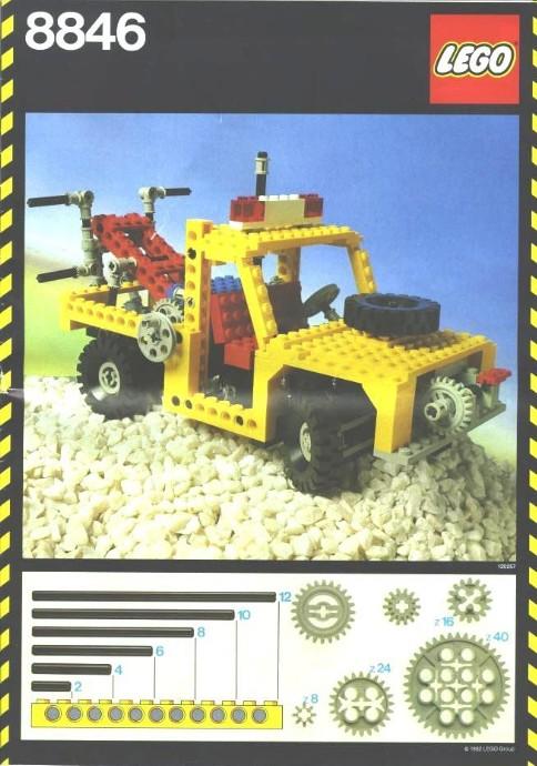 8846 1 tow truck brickset lego set guide and database. Black Bedroom Furniture Sets. Home Design Ideas