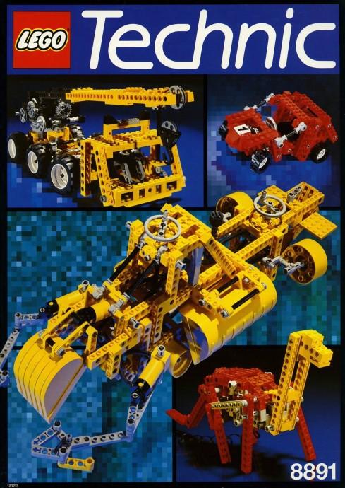 Lego 8891 Designer's Manual image
