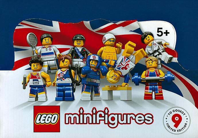 HORSEBACK RIDER 8909 LEGO MINIFIGURES TEAM GB SERIES