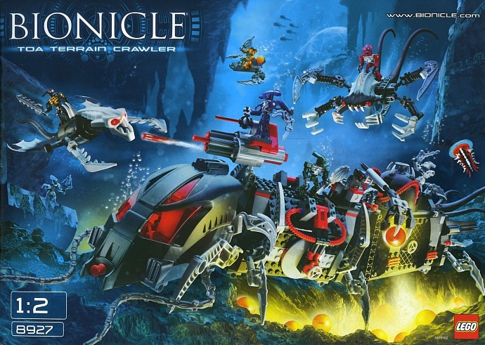lego bionicle instructions 2007