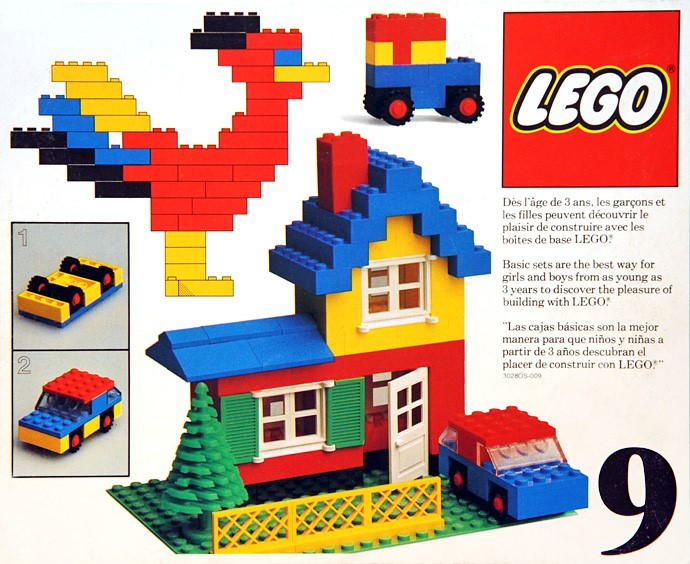Lego 9 Basic Building Set, 3+ image