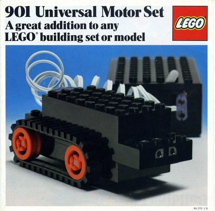 901 1 universal motor set brickset lego set guide and. Black Bedroom Furniture Sets. Home Design Ideas