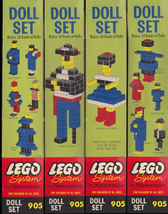 Изображение набора Лего 905 Doll Set