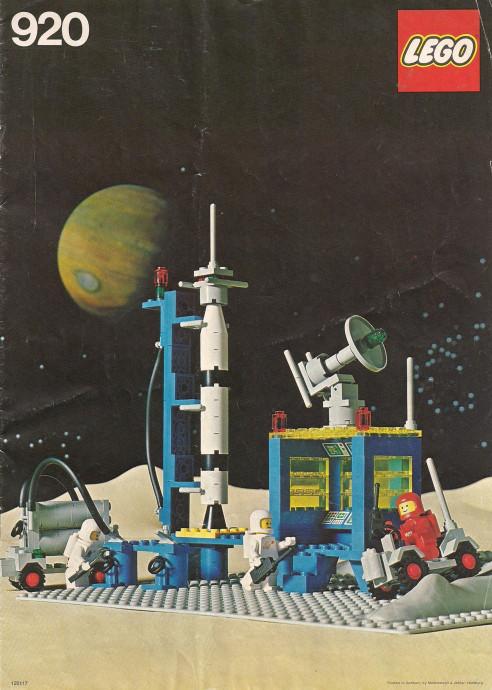 Lego 920 Rocket Launch Pad image