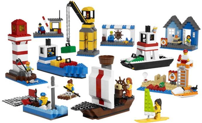 Lego 9337 Harbour Set image