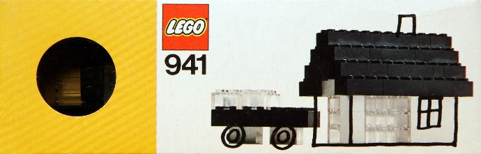 Lego 941 Black and Clear Bricks image