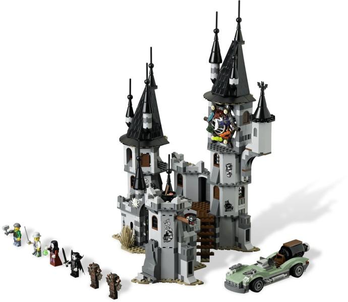 lego haunted house instructions