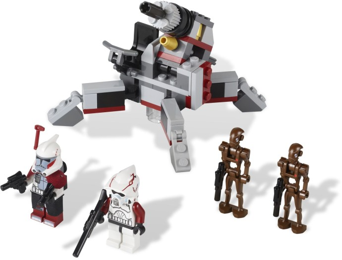 Lego Star Wars Clone Turbo Tank 2010 Instructions