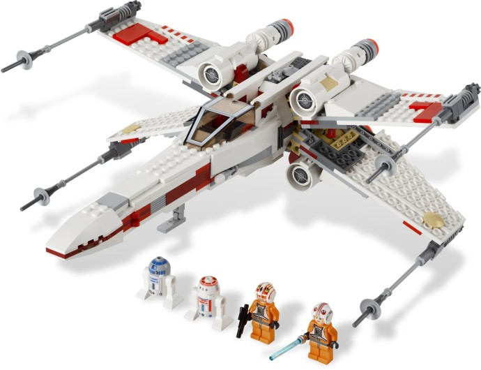 9493 1 X Wing Starfighter Brickset Lego Set Guide And Database