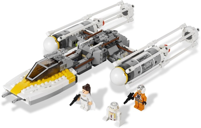 Authentic LEGO Star Wars R5-F7 Minifigure sw370 9495 75023 Gold Leaders Y-Wing