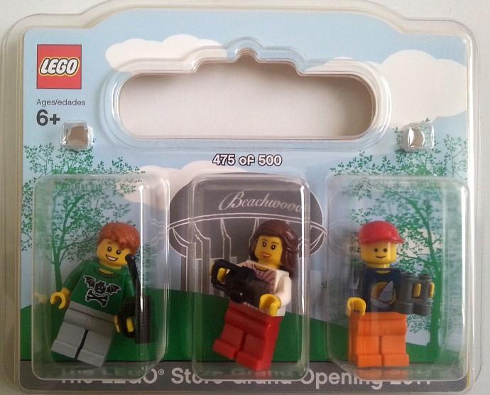 Beachwood-1: Beachwood Exclusive Minifigure Pack | Brickset: LEGO ...