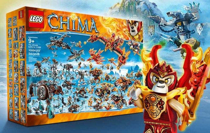 Lego BIGBOX The ultimate battle for CHIMA image
