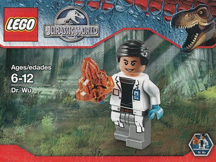 Jurassic world brickset lego set guide and database dr wu drwu 1 jurassic world 2015 gumiabroncs Images