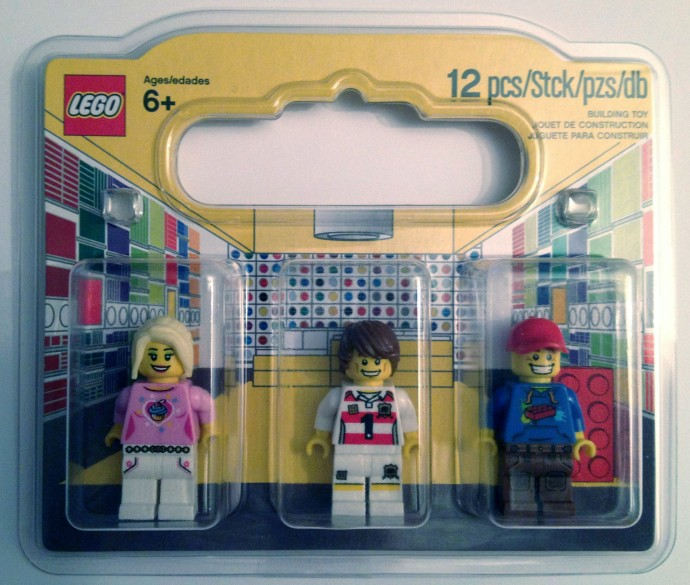 LEGO brand store opening set | 2012 | Brickset: LEGO set guide and ...