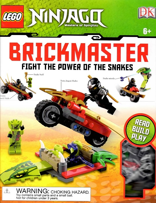 Lego brickmaster two disc set from the lego vaults volume two