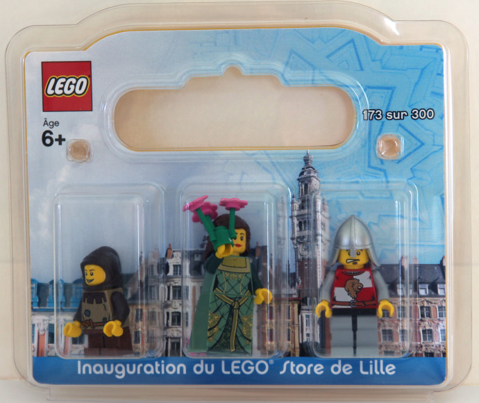 LILLE-1: Lille, France, Exclusive Minifigure Pack | Brickset: LEGO ...