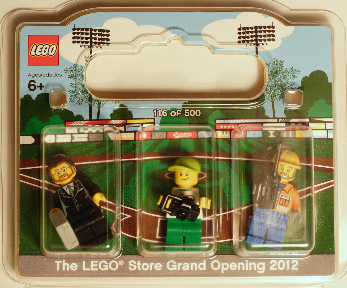 PEABODY-1: Northshore Mall Exclusive Minifigure Pack | Brickset ...