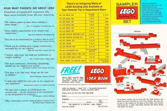 Изображение набора Лего SAMPLER Sampler Set Oxydol