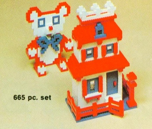 Lego SAMSONITE 665 Piece Basic Set image