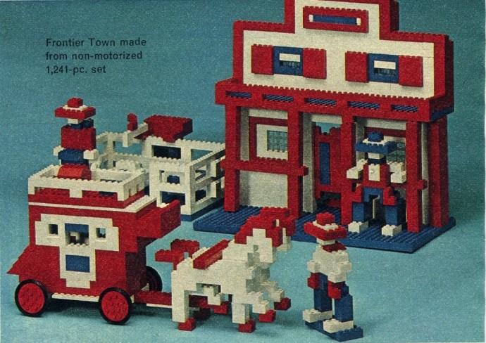 Lego SAMSONITE 1241 Piece Basic Set image