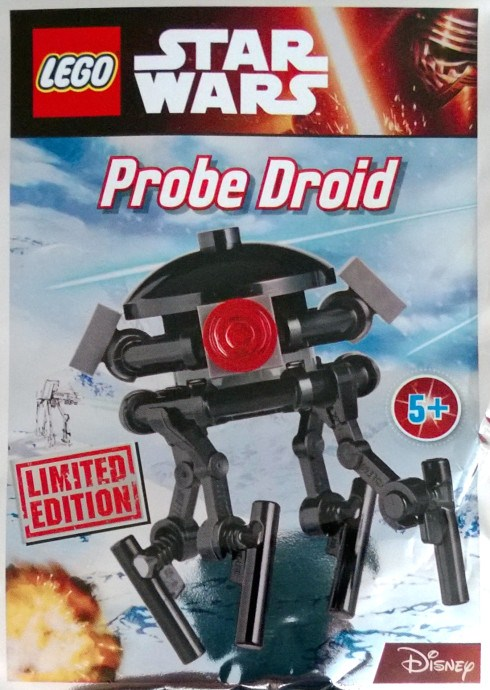 Lego Star Wars Imperial Probe Droid Foil Pack 2016 UK Exclusive 911610 Polybag